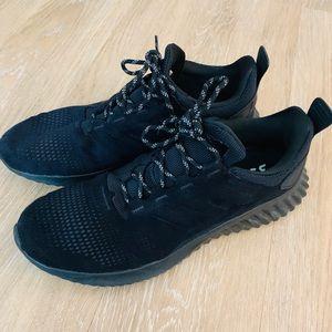 Adidas Alphabounce  black suede